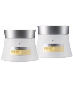 Nanogold Silk Набор по уходу за кожей для лица: дневной крем + ночной крем